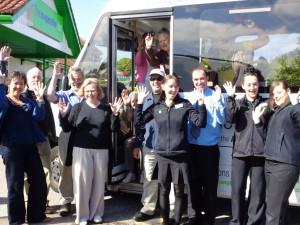 Launch of Co-op bus